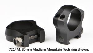 Warne Mountain Tech 34mm Rings