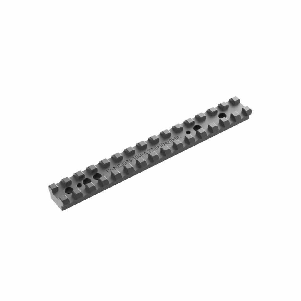 Audere Tikka T3 / T3X Steel 0 Moa Picatinny Rail