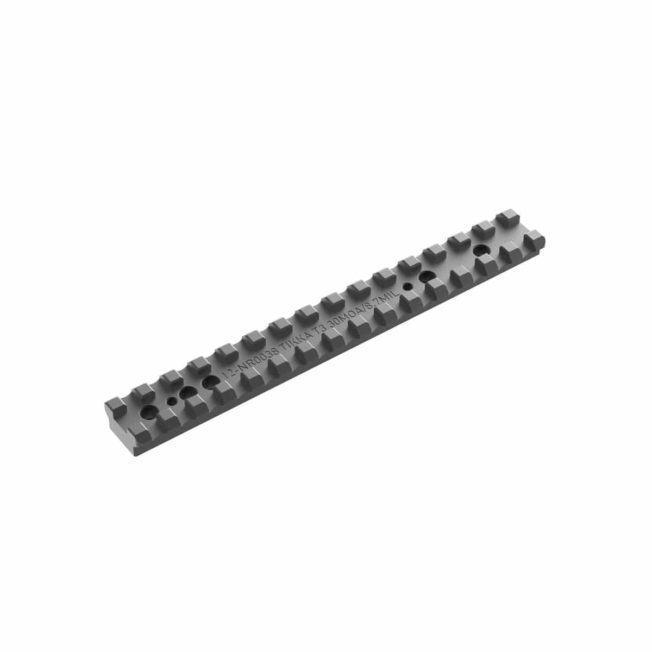 Audere Tikka T3 / T3X Steel 30 Moa Picatinny Rail